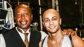 Hamilton - backstage - 9/15 - MC Hammer - Seth Stewart