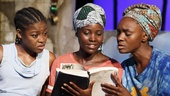Pascale Armand as Bessie, Lupita Nyong'o as Girl, and Saycon Sengbloh as Helena in Eclipsed
