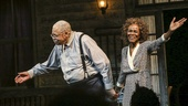The Gin Game - Opening - 10/15 - James Earl Jones and Cicely Tyson