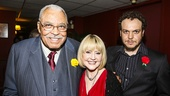 The Gin Game - Opening - 10/15 - James Earl Jones, wife CC and son Flynn