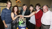 Wicked - 5000 performances - 10/15 - Jonah Platt, Rachel Tucker, Stephen Schwartz, Kara Lindsay, Michele Lee, Fred Applegate