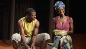 Michael Luwoye and Adeola Role in Invisible Thread.