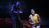 LaTrista Harper and Michael Luwoye in Invisible Thread.