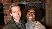 Kinky Boots - Billy Porter - Final Show - 11/15 -  Stark Sands and Billy Porter