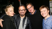 Hand to God - Backstage - 11/15 - Nancy Jarecki - Andrew Jarecki- Bob Saget- Steven Boyer