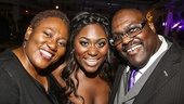 The Color Purple - Opening - 12/15 - Danielle Brooks and parents
