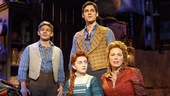 Andrew Keenan-Bolger as Jesse Tuck, Robert Lenzi as Miles Tuck, Sarah Charles Lewis as Winnie Foster & Carolee Carmello as Mae Tuck