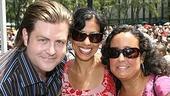 Photo Op - Broadway in Bryant Park 07-26-07 - Paul Wontorek - Julie Ronning - Josefa Paganuzzi