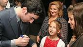 Photo Op - Grease Opening -  Max Crumm signs autographs