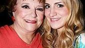 Photo op - Wicked 4th anniversary party - Carole Shelley - Annaleigh Ashford