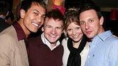 Photo op - Wicked 4th anniversary party - Kenway Hon Wai Kua - Eddie Pendergraft - Chelsea Krombach - Ryan Patrick Kelly