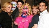 Photo Op - Sabrina Bryan at Avenue Q - Sabrina Bryan - Rod - Howie Michael Smith - Lucy the Slut - Mary Faber - Mark Ballas