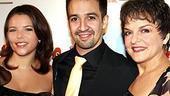 Broadway In the Heights Opening - Lin-Manuel Miranda - Priscilla Lopez - girlfriend Vanessa