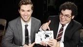 Mormon signing - Andrew Rannells - Josh Gad
