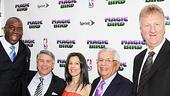 Magic.Bird Opening Night – Magic Johnson – Tony Ponturo – Fran Kirmser – David Stern – Larry Bird