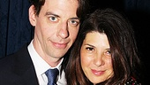 Peter and the Starcatcher Opening Night – Christian Borle – Marisa Tomei