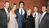 Ghost Opening Night – Caissie Levy and family
