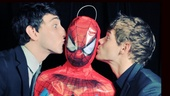 Looks like the Newsies boys have a soft spot for Spidey.