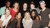 Bring It On stars Taylor Louderman, Gregory Haney, Kate Rockwell, Elle McLemore, Ryann Redmond, Adrienne Warren and Neil Haskell help make Vivienne O'Donnell's tenth birthday extra special.