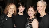Ann- Gloria Steinem- Anne Hathway- Kate McCauley Hathaway- Cecile Richards