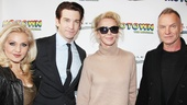 'Motown' Opening Night — Orfeh — Andy Karl — Trudie Styler — Sting