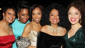 Cast member N'Kenge cuts in for a moment with the legendary Diana Ross.