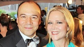 Tony Red Carpet- Danny Burstein- Rebecca Luker