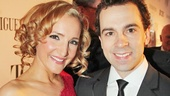 Tony Red Carpet- Maggie Lakis- Rob McClure