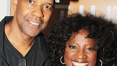 Denzel Washington, who will return to Broadway in A Raisin in the Sun next spring, is on hand to support his good friend LaTanya Richardson Jackson (wife of Samuel L. Jackson).