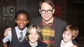 Kinky Boots - Sarah Jessica Parker visits - OP - Cole Bullock - James Wilkie Broderick - Matthew Broderick - Sebastian Hedges