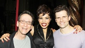 Pippin orchestrator Larry Hochman welcomes Ciara Renee & Kyle Dean Massey.