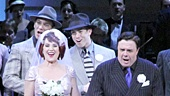The cast of Guys and Dolls at Carnegie Hall.
