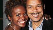 If/Then stars LaChanze and Jerry Dixon take a break to pose for an adorable snapshot.
