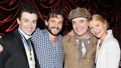 A Gentleman's Guide to Love and Murder - Backstage - OP - 5/14 - Bryce Pinkham - Hugh Dancy -  Jefferson Mays - Claire Danes