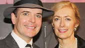 A Gentlemans Guide's Jefferson Mays and his wife Susan Lyons.