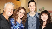 Beautiful - Backstage - 9/14 - Pat Benatar -  Neil Giraldo - Jessie Muelle - Jake Epstein
