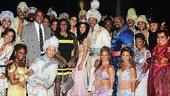 Aladdin - backstage - 9/14 - Aretha Franklin - William Wilkerson - cast