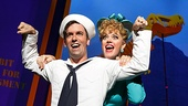 Clyde Alves as Ozzie and Elizabeth Stanley as Claire in On the Town