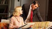 Gretchen Mol as Emily & Hari Dhillon as Amir Kapoor in Disgraced
