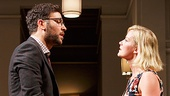 Josh Radnor as Isaac & Gretchen Mol as Emily in Disgraced