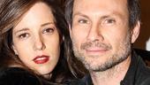 Disgraced - Opening - 10/14 - Christian Slater - wife - Ryan Slater