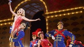 Kristin Chenoweth as Lily Garland and the cast of On the Twentieth Century