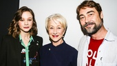 Tony Nominees - Brunch - 4/15 - Carey Mulligan - Helen Mirren - Nathaniel Parker