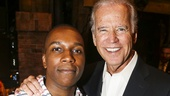 Hamilton - Backstage - Joe Biden - 7/15 - Leslie Odom Jr.