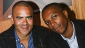 Hamilton - CD release - 10/15 - Christopher Jackson and Leslie Odom Jr