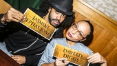 Hamilton - CD release - 10/15 - Daveed Diggs and Jasmine Cephas Jones