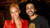 Hamilton - Backstage - 10/15 - Beyonce and Daveed Diggs