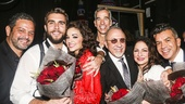 On Your Feet! - Opening - 11/15 - Alexander Dinelaris, Josh Segarra, Ana Villafane, Jerry Mitchell, Emilio and Gloria Estefan and Sergio Trujillo