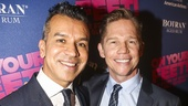 On Your Feet! - Opening - 11/15 - choreographer Sergio Trujillo and partner Jack Noseworthy
