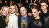 School of Rock - Opening - 12/15 - Jessica Waxman, Vanessa Ray, Vadim Felcher, Leslie Kritzer and Nolan Gerard FUnk